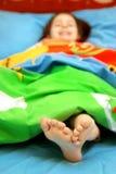 маленькие пальцы ноги Стоковая Фотография