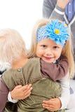 Маленькие ребеята сестер стоковое фото