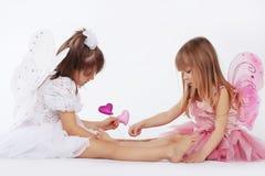 маленькие princesses Стоковые Фотографии RF