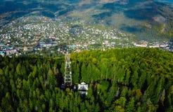 Маленький город в сельской местности Стоковая Фотография