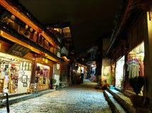 маленький город дороги стоковое изображение rf