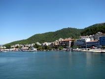Маленький город на море 2 Стоковые Изображения RF