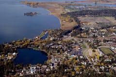 маленький город США западный Стоковое Изображение RF