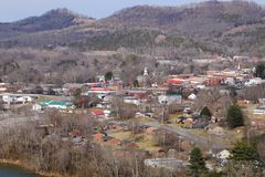 Маленький город Теннесси Стоковое Фото