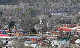 Маленький город Теннесси Стоковая Фотография
