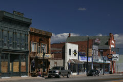 маленький город Юта Стоковое Изображение