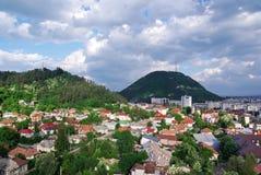 маленький город Стоковая Фотография