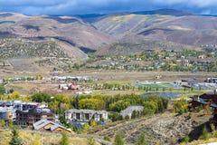 маленький город colorado Стоковые Фотографии RF