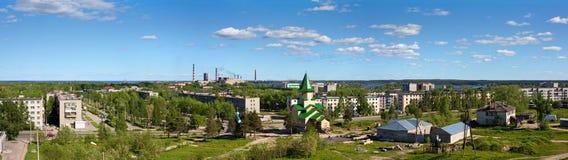 маленький город karelia Стоковое Изображение RF