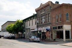 маленький город u s стоковая фотография rf