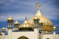 маленький город мечети старый Стоковое Изображение