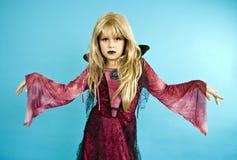 маленький девичий вампир Стоковые Фото