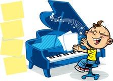 маленький музыкант Стоковые Изображения