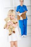 маленький пациент Стоковые Фотографии RF