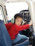 маленький пилот стоковая фотография rf