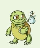 маленький путник черепахи Стоковые Фото