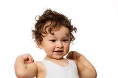маленький спортсмен Стоковые Изображения RF