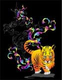 маленький тигр Стоковая Фотография