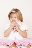 маленький удивленный princess Стоковая Фотография RF