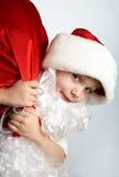 маленький santa Стоковые Изображения