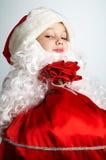 маленький santa Стоковое Фото