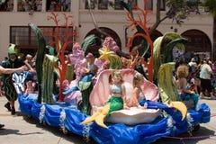 маленькое море mermaids вниз Стоковое Фото