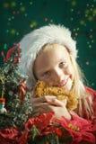 Маленькое Санта стоковые фото