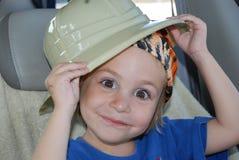 маленькое сафари человека Стоковое фото RF