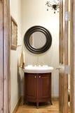 малое ванной комнаты шикарное Стоковая Фотография