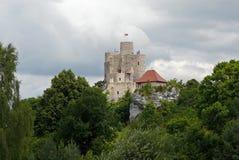малое замока фантастичное Стоковое Изображение