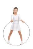 малое красивейшей девушки гимнастическое Стоковое Изображение RF