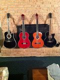 Малое собрание гитары Стоковое Фото