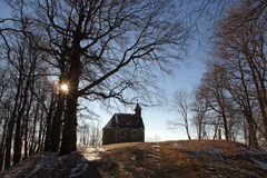 малое церков сельское Стоковая Фотография