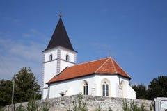 малое церков сельское Стоковое Изображение
