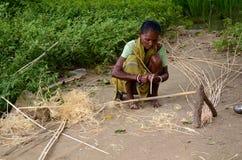 Малообеспеченные женщины стоковое фото rf