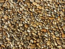 Малые камни моря реки Предпосылка лета красочный камень камешка matrerial Стоковая Фотография RF
