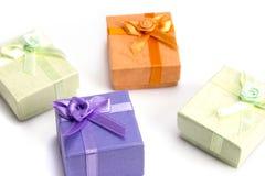 Малые коробки подарка Стоковые Изображения