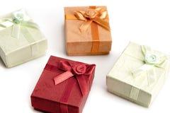 Малые коробки подарка Стоковые Фото