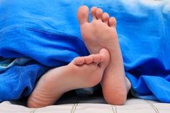 Малые ноги Стоковые Изображения