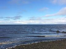 Малые океанские волны стоковое изображение rf