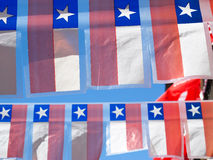 Малые орнаментальные флаги. Стоковое Изображение