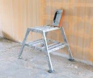 Малые шаги и губка используемая для штукатурить Стоковая Фотография RF