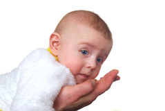 Малый белый мальчик Стоковое Фото