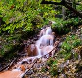 малый водопад Стоковая Фотография