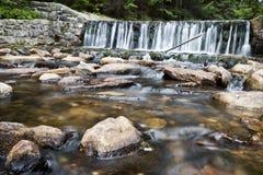 малый водопад upa Стоковая Фотография RF