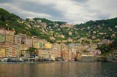 Малый город Camgoli, Италия стоковая фотография