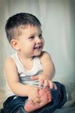Малый мальчик стоковые изображения rf