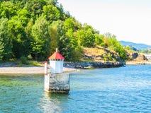 Малый маяк в Стоковое фото RF