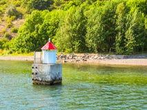 Малый маяк в Стоковое Изображение RF