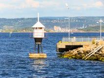 Малый маяк в Стоковое Изображение
